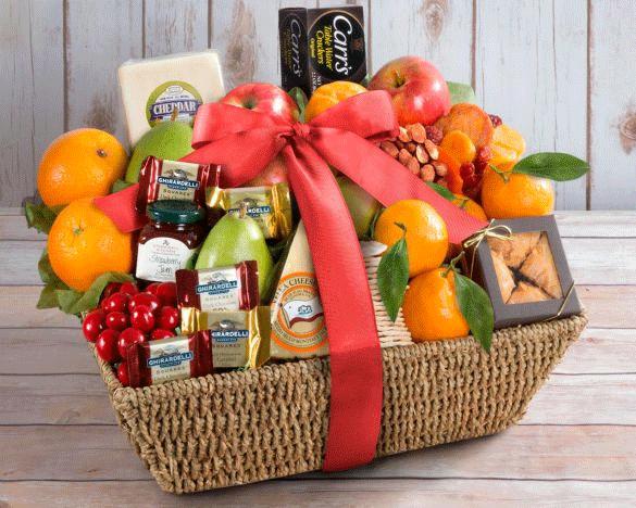 Ultimate Fruit and Nut Gift Basket