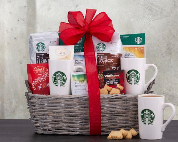 Ultimate Starbucks Gift Basket
